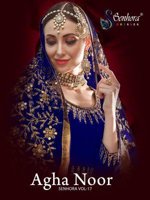 Senhora Agha Noor 17 Heavy Embroidery Salwar Kameez Collection