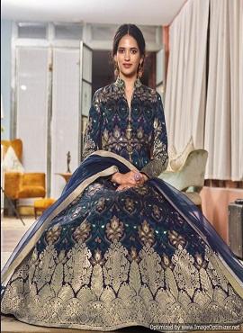 Virasat Muskan 1069 Exclusive Jacquard Designer Gown Collection