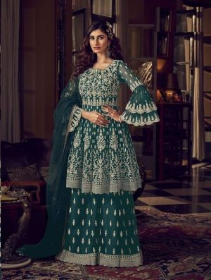 Snow White 6601 Series Georgette Embroidery Salwar Kameez Collection