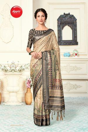 Apple Begam Badshah Casual Wear Silk Sarees Collection