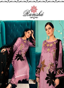 Ramsha R 270 Nx Heavy Embroidery Pakistani Salwar Suits Collection