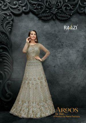 Rama Raazi Aroos 10049 Series Designer Festive Wear Heavy Salwar Kameez Collection