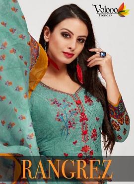 Volono Rangrez 1 Casual Wear Cotton Dress Materials Collection