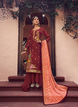 Aarav Rooshi Fancy Embroidery Designer Dress Material Collection