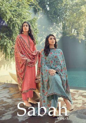 Karma Sabah 3 Embroidery Designer Salwar Suits Collection