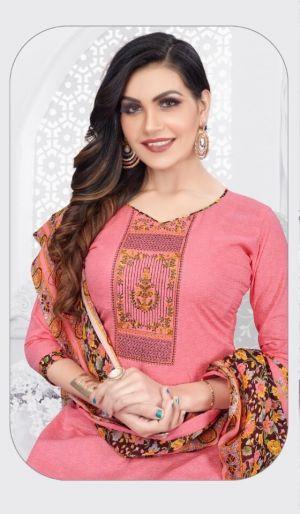 Mastani Patiyala 2 Regular Wear Cotton Dress Material Collection
