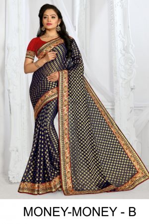 Ronisha Money Money Festive Wear Designer Saree Collection