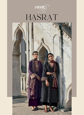 Kimora Hasrat Printed Embroidery Cotton Dress Material Collection