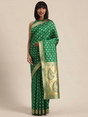 Rich Pallu Silk 5 Fancy Casual Wear Designer Silk Sarees Collection