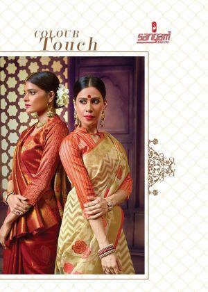 Sangam Zamdani Festive Wear Handloom Cotton Sarees Collection