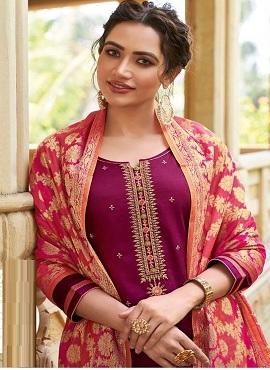 Kessi Parnita 5 Jam Silk Designer Dress Material Collection