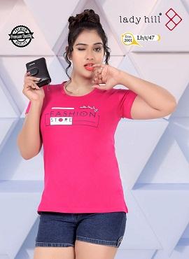Lady Hill Tshrt 47 Long Pocket Tshirt Collection