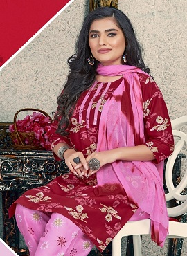 Trendy Zeal 2 Regular Wear Rayon Printed Readymade Collection