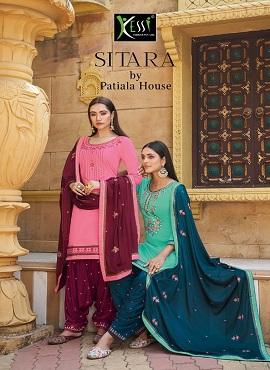 Kessi Sitara By Patiyala House Designer Dress Material Collection