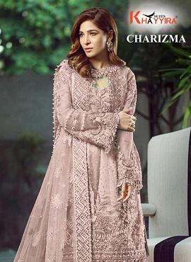 Khayyira Charizma 2002 Series Pakistani Salwar Suits Collection