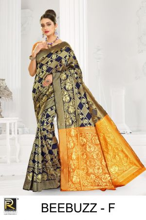 Ronisha Beebuzz Silk Fancy Casual Wear Saree Collection