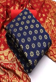 Rnx Banarasi Bubbles 2 Banarasi Silk Dress Material Collection