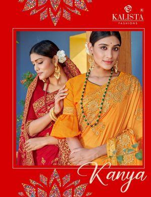 Kalista Kanya Heavy Wedding Wear Saree Collection