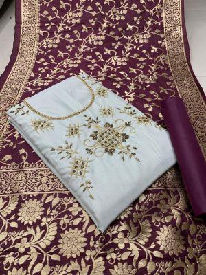 Designer Handowork Suits 6002 Dress Material Collection