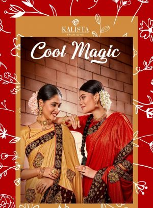 Kalista Cool Magic Party Wear Silk Saree Collection