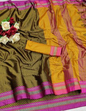 Maahi 5 Soft Silk Festive Wear Saree Collection