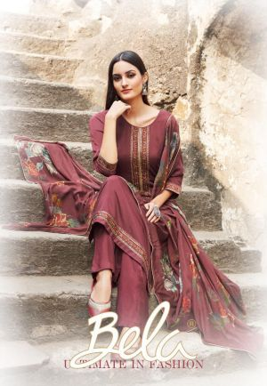 Bela Maahi 1161 Series Designer Exclusive Dress Material Collection