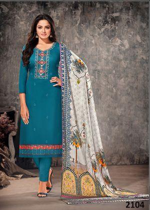 Orrly 4 Designer Festive Wear Dress Material