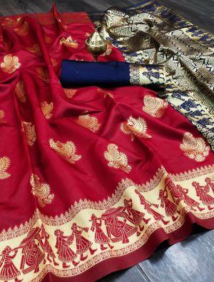 Maahi 6 Banarasi Silk Festive Wear Saree Collection