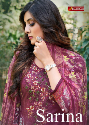 Roli Moli Sarina 2 Printed Designer Dress Material Collection