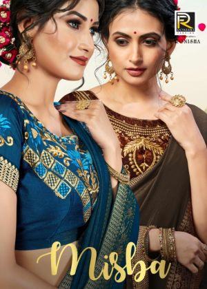 Ronisha Misba Festive Wear Saree Collection