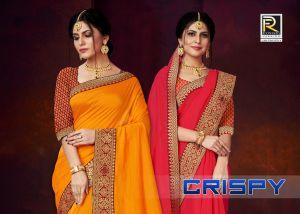 Ronisha Crispy festive Wear Saree Collection