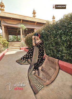 Sangam Vartika Cotton Handloom Sarees Collection