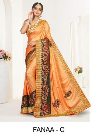 Ronisha Fanaa Festive Wear Designer Saree Collection