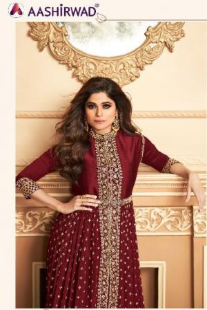 R Anokhi Georgette Designer Salwar Suits Collection