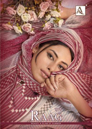 Alok Raag Pure Cotton Digital Printed Dress Material