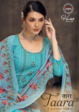 Harshit Taara 2 Pure Cotton Digital Printed Designer Dress Material Collection