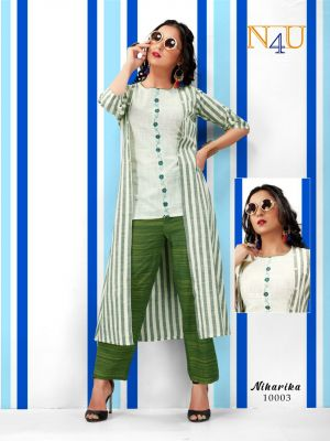 N4u Niharika South Cotton Exclusive Fancy Collection