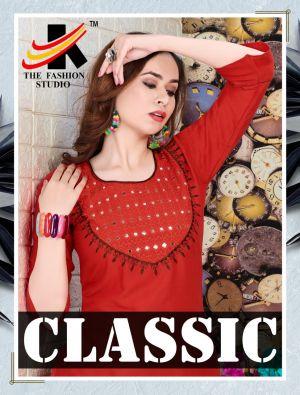 The Fashion Studio Classic 1 Premium Kurti With Skirt Collection