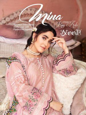 Noor Mina Premium Pakistani Salwar Suits Collection