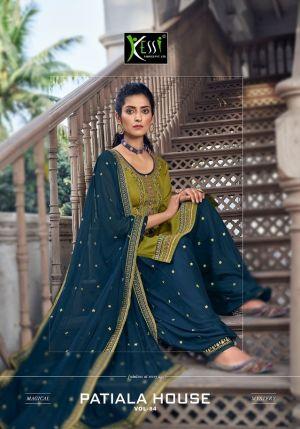 Kessi Patiyala House 84 Patiyala Punjabi Style Dress Material