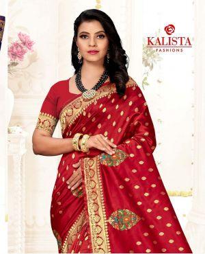 Kalista Abilasa Designer Wedding Party Wear Saree Collection