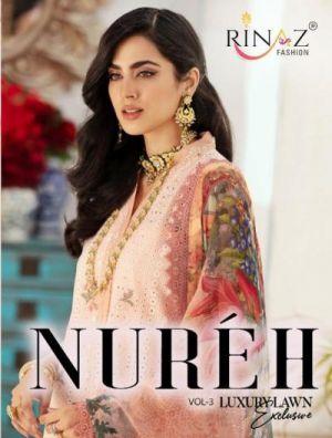 Rinaz Nureh 3 Exclusive Pakistani Salwar Suits Collection