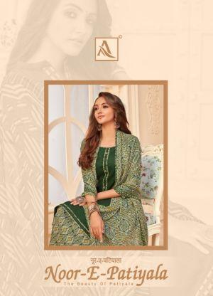Alok Noor E Patiyala 13 Punjabi Patiyala Dress Material