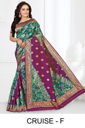 Ronisha Cruise Casual Wear Silk Saree Collection