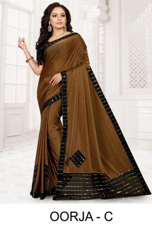 Ronisha Oorja Festive Wear Designer Saree Collection