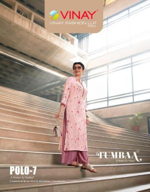 Vinay Tumbaa Polo 7 Exclusive Fancy Kurti With Bottom Collection