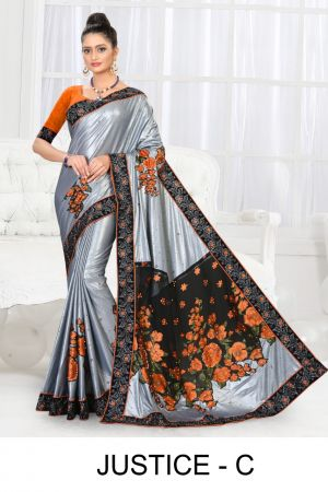 Ronisha Justice Bollywood Style Designer Saree Collection