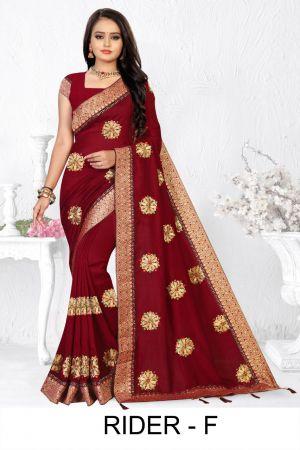 Ronisha Rider Fastive Wear Designer Saree Collection