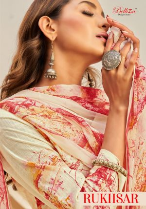 Belliza Rukhsar Pure Cotton Designer Dress Material Collection