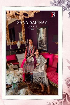 Deepsy Sana Safinaz Lawn 3 Pakistani Salwar Suits